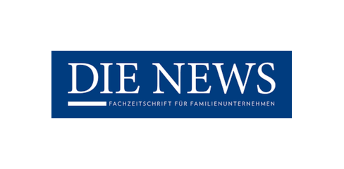 Logo die News - Fachzeitschrift für Familienunternehmen